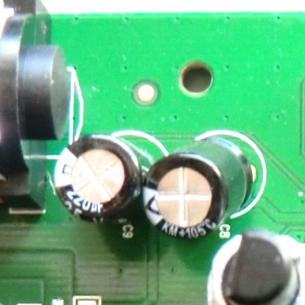 Rush Booster 電源コンデンサ