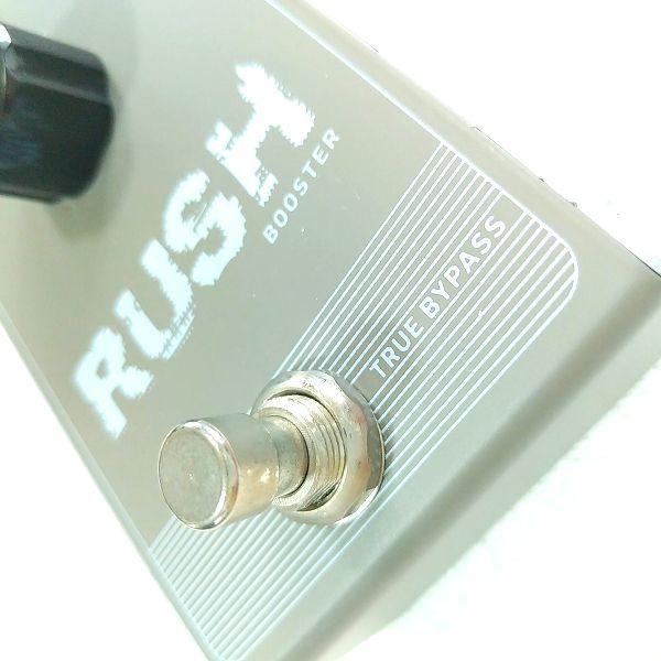 Rush Booster トゥルーバイパス表記