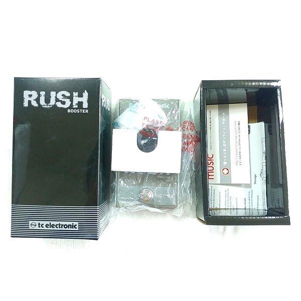 Rush Booster 封入物