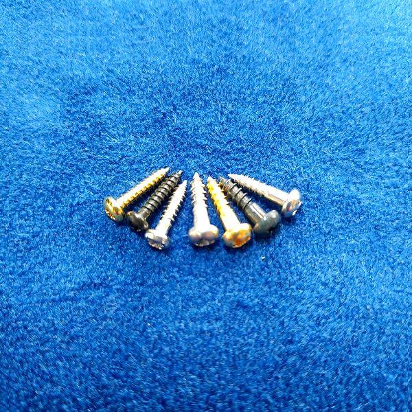 ペグ用ビス 2.1mm~2.4mm7種