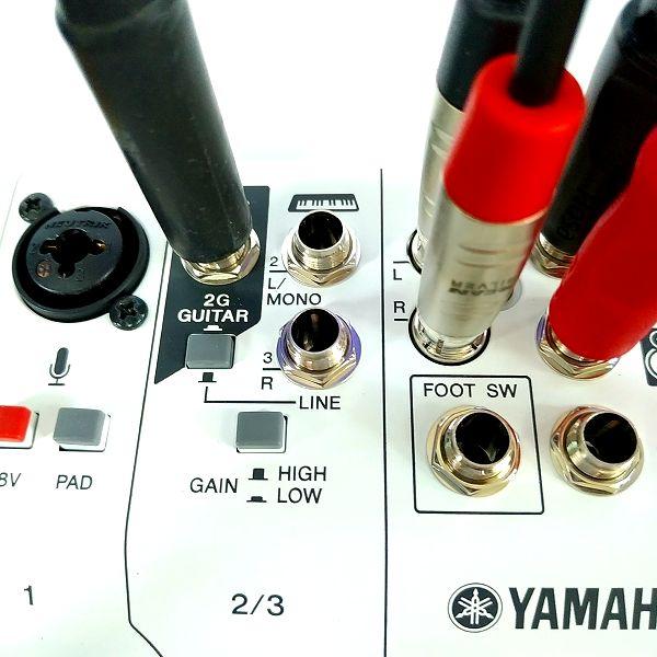 YAMAHA AG03 ギター端子入力