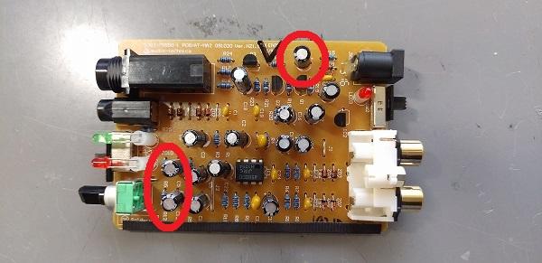 容量の高い電解コンデンサ