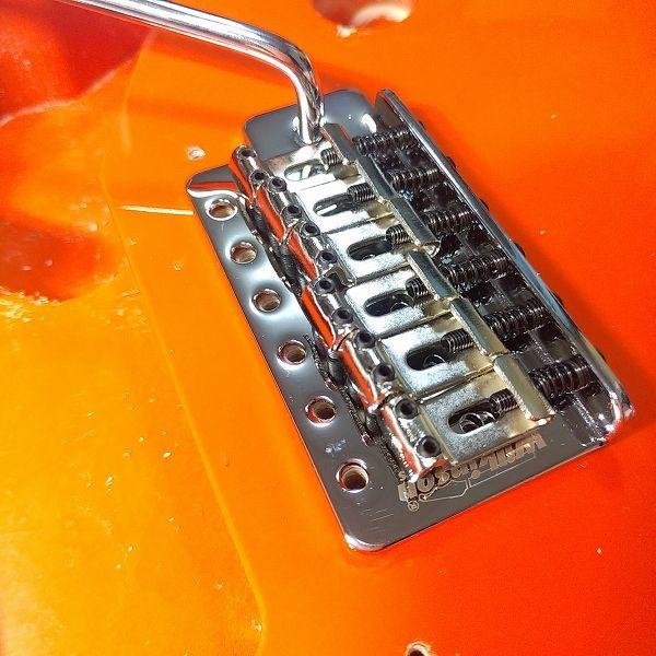 Wilkinson 10.5mm ビンテージスタイル フルブロックST ギタートレモロユニット ブリッジ 取り付けチェック表