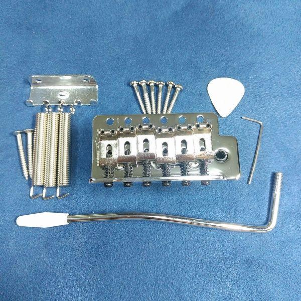 Wilkinson 10.5mm ビンテージスタイル フルブロックST ギタートレモロユニット ブリッジ 付属品一式
