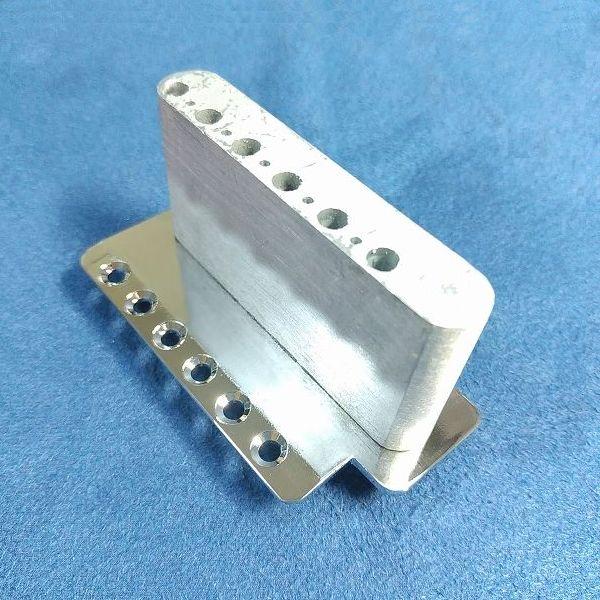 Wilkinson 10.5mm ビンテージスタイル フルブロックST ギタートレモロユニット ブリッジ トレモロブロック