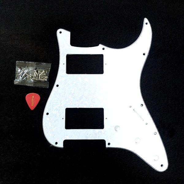 Musiclily Pro 11穴 HH USA/メキシコストラトキャスターギター用ピックガード セット内容