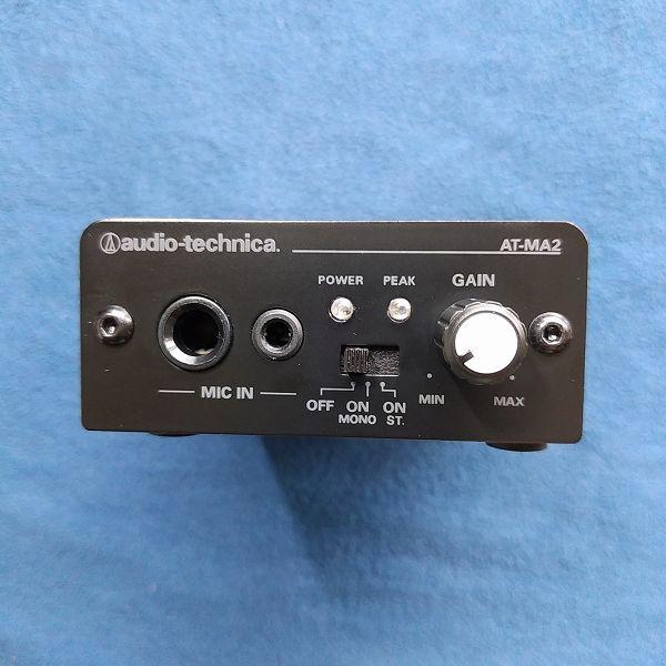 audio-technica AT-MA2 表面パネル