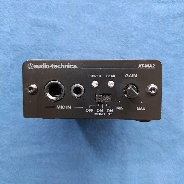 audio-technica AT-MA2 ノブ外し