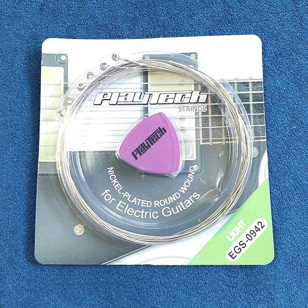 PLAYTECH ( プレイテック ) / EGS-0942 エレキギター弦 パッケージ 安ギター弦