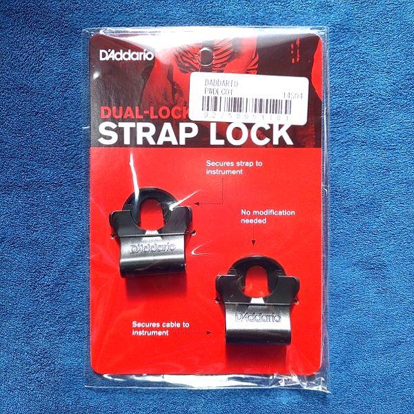 D'Addario DUAL LOCK パッケージ表