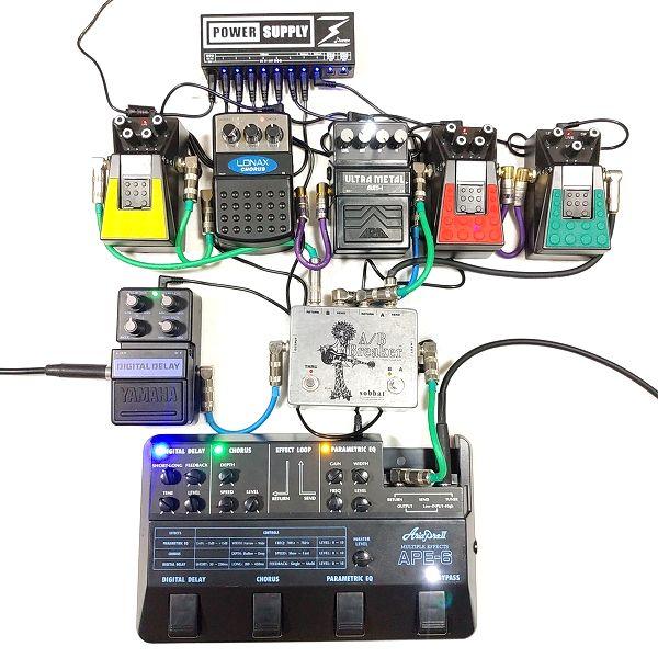 Donner DP-2 デジタルノイズの計測