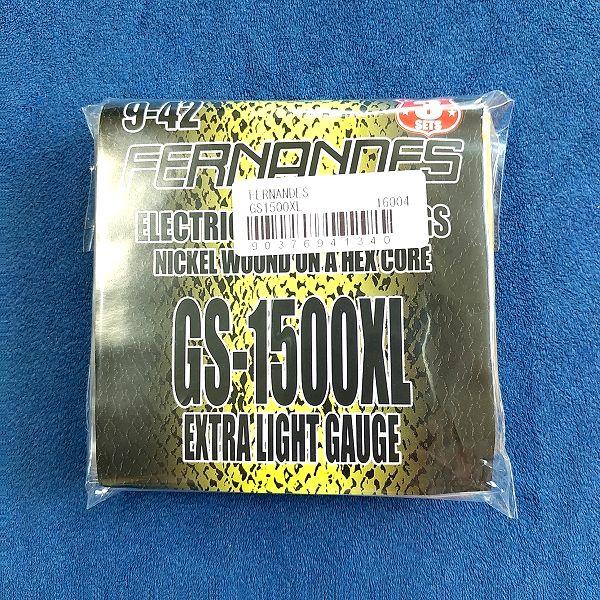 FERNANDES ( フェルナンデス ) / GS1500-XL パッケージ 安ギター弦