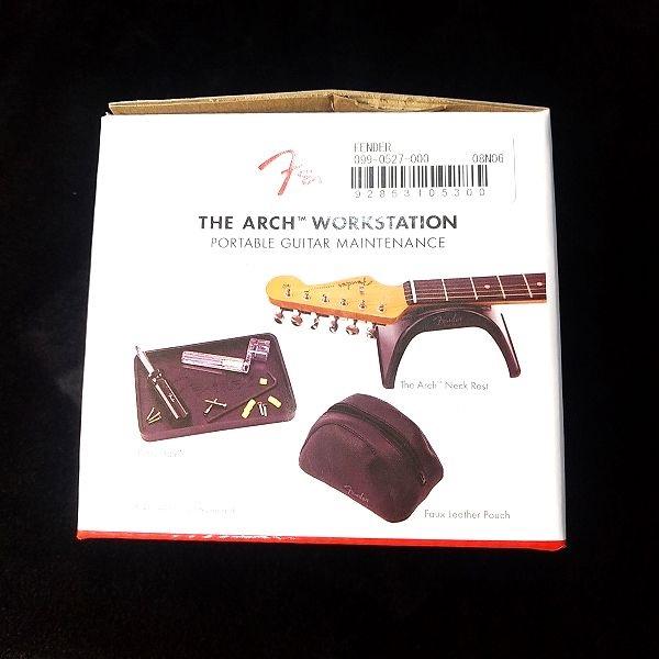Fender The Arch Workstation パッケージ側面