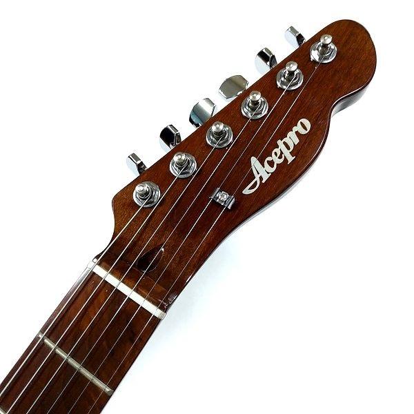 Acepro AE-204 テレキャスタータイプ No.3 ヘッドトップ