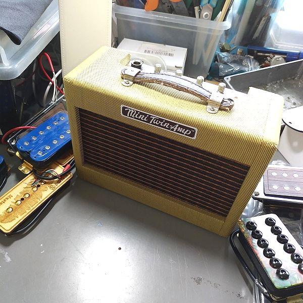Fender Mini '57 Twin-Amp ジャンク品