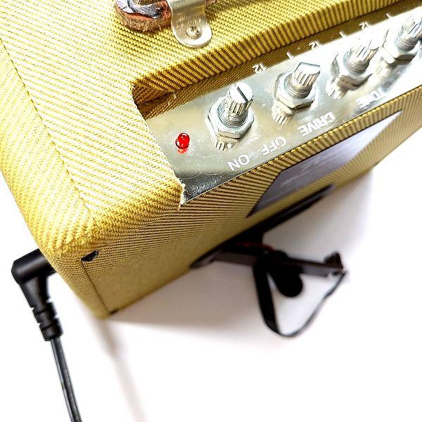 Fender Mini '57 Twin-Amp アダプター動作確認