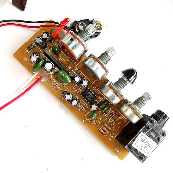 Fender Mini '57 Twin-Amp ノブ追加