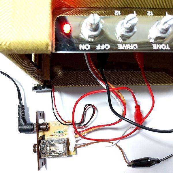 Fender Mini '57 Twin-Amp 再動作確認