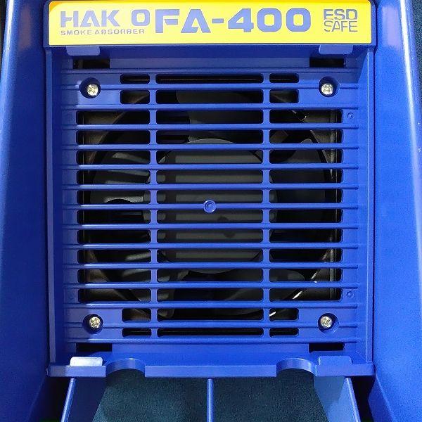 HAKKO 白光 卓上はんだ吸煙器 FA-400 フィルター装着前