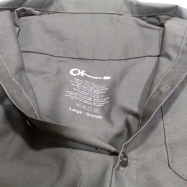 Charvel Patch Work Shirt 襟袖付近