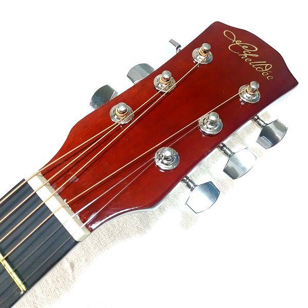 Amazon アコースティックギター 初心者セット ヘッドトップ