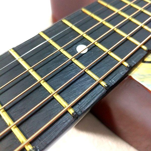 Amazon アコースティックギター 初心者セット フレット