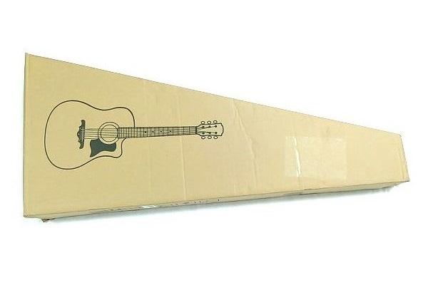 Amazon アコースティックギター 初心者セット 梱包状態