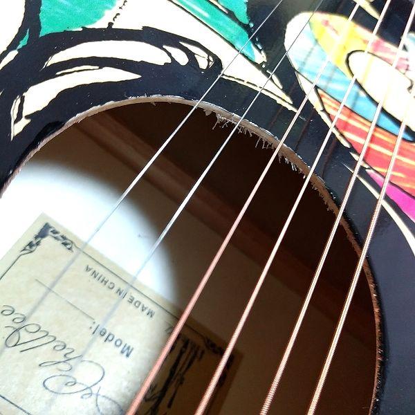Amazon アコースティックギター 初心者セット サウンドホール
