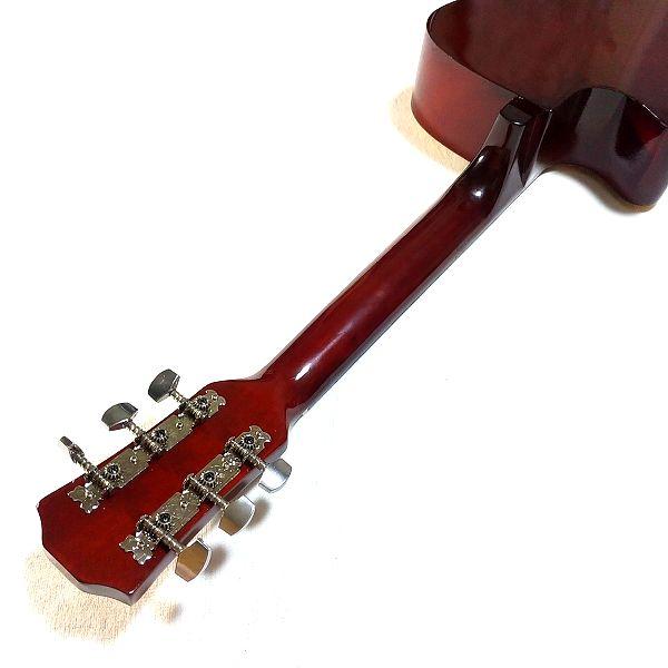 Amazon アコースティックギター 初心者セット ネックグリップ面