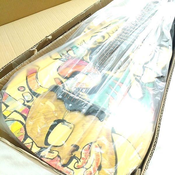 Amazon アコースティックギター 初心者セット 内部梱包状態
