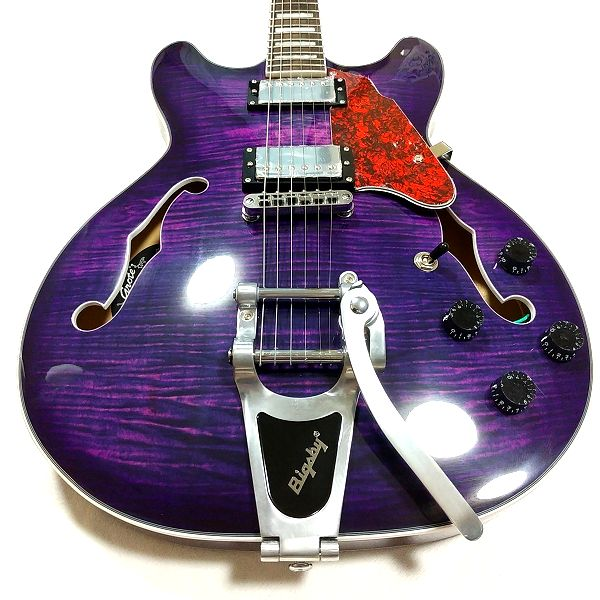 GROTE 335 style with Bigsby 重量