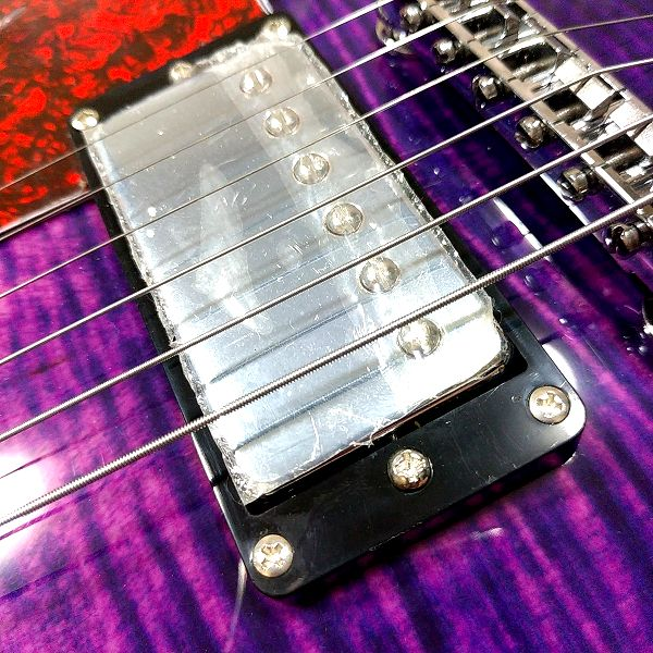 GROTE 335 style with Bigsby - GROTEピックアップ リア