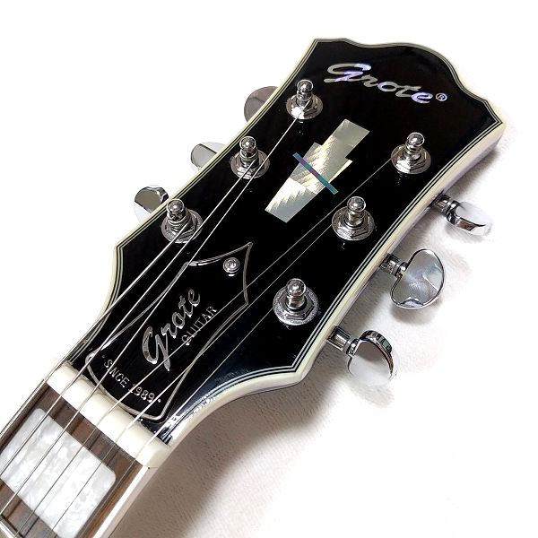GROTE 335 style with Bigsby ネックヘッド