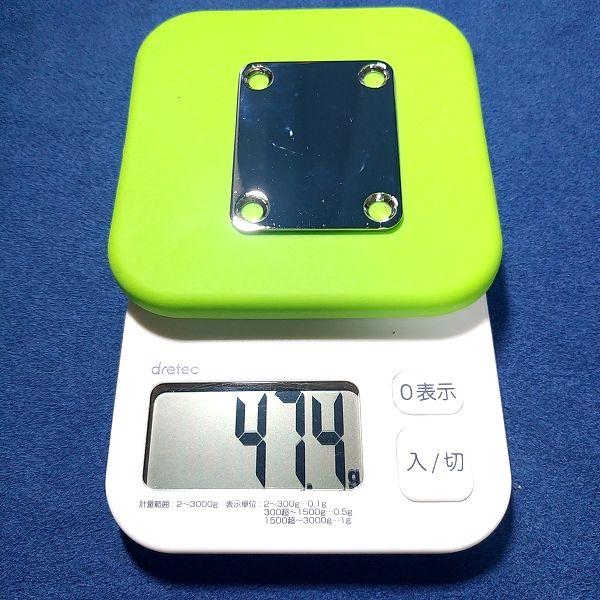 スチールプレート / 2mm 重量