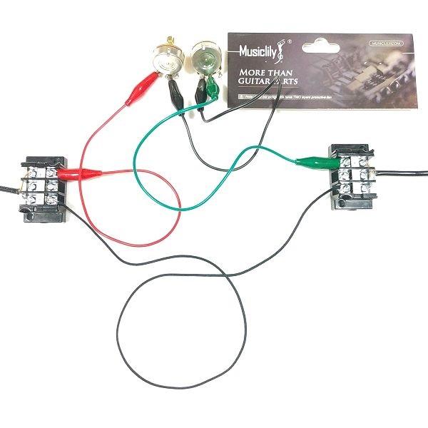Musiclily Pro / ブラスシャフト ミリ規格