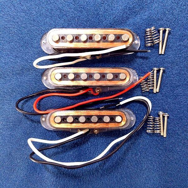 クリアボビンアルニコVシングルセット 本体と付属品一式