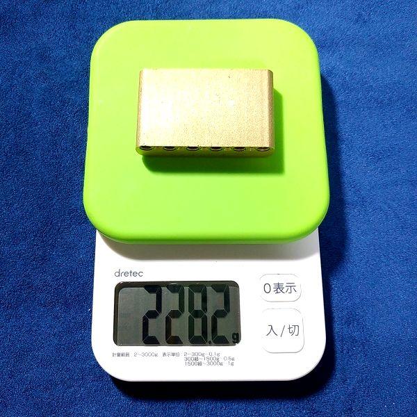 Amazon最安 トレモロブラスブロック 重量