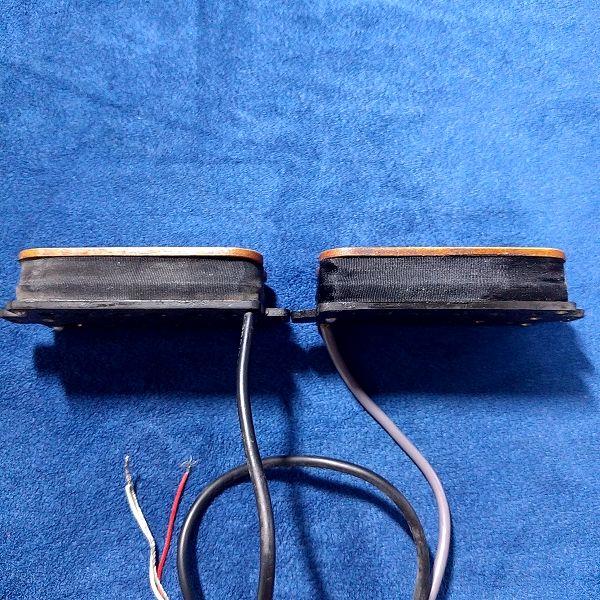 Masterbuirt 木製ハムバッカーセット 厚み