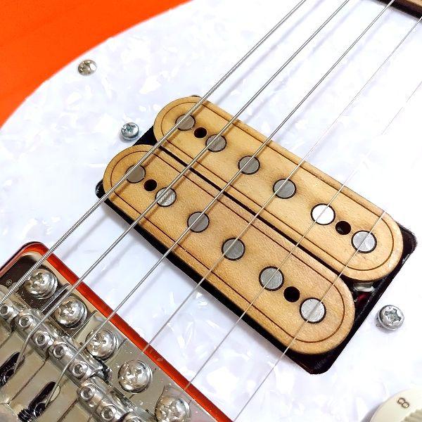 Masterbuirt 木製ハムバッカーセット ブリッジ