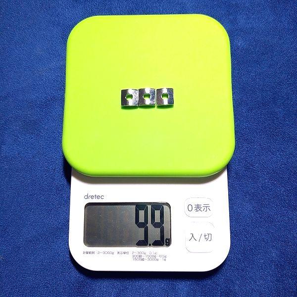 ロックナット ナットキャップ スチール(フロイド型) 重量