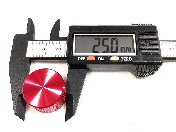 TWTADE 25mm 大径アルミノブ サイズ