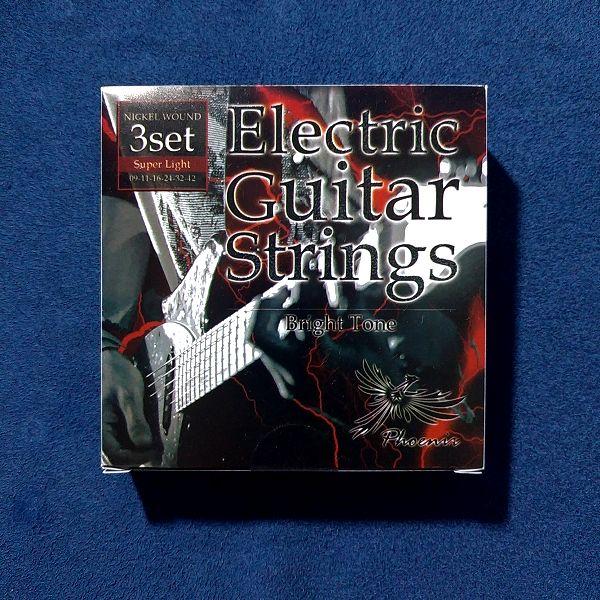 Phoenix スーパライト エレキギター弦 パッケージ表面