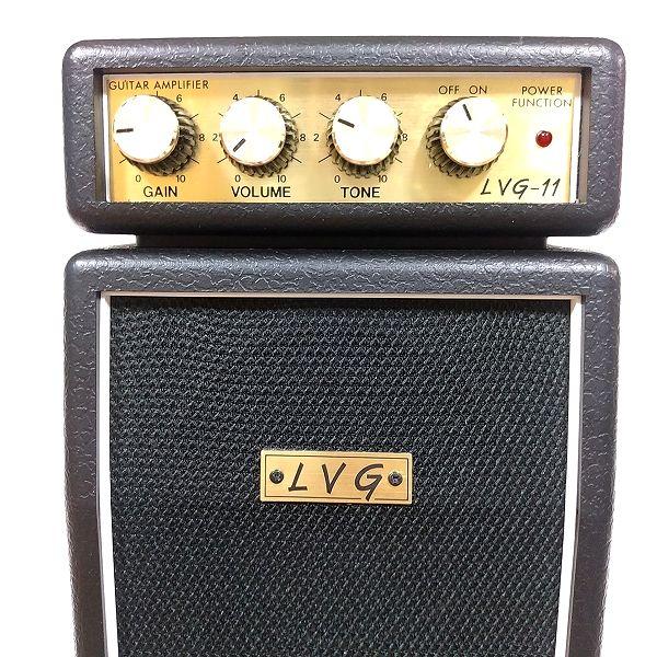 LVG-11 Micro Guitar Amp パネル面アップ