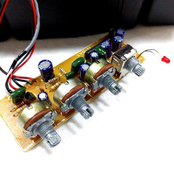 LVG-11 Micro Guitar Amp 固着ポット