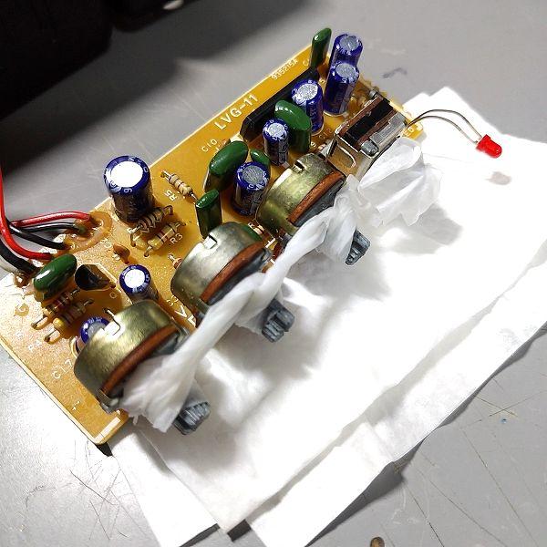 LVG-11 Micro Guitar Amp 無水エタノール&キムワイプ