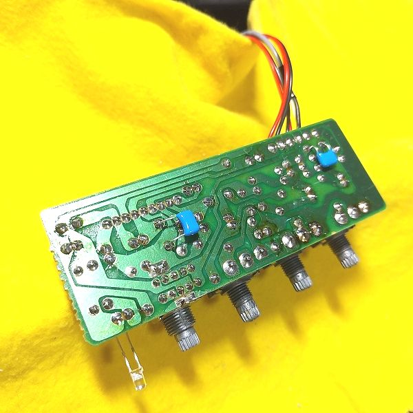 LVG-11 Micro Guitar Amp コンデンサ合成
