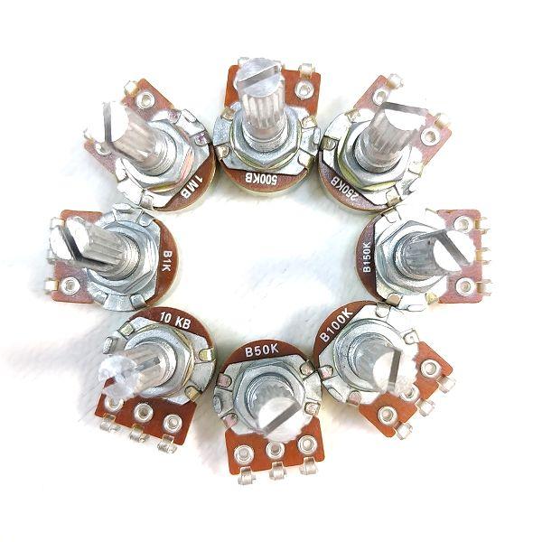 可変抵抗器 ポット Supertech Electronic製8種
