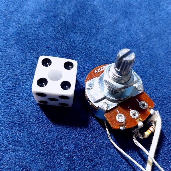 Yibuy ABS樹脂 ダイスノブセット ポットの対応軸サイズ