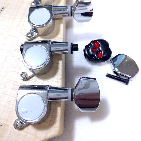 ARIA / AT-235G ペグ 骷髅パータン ボタン 汎用ペグ適合チェック