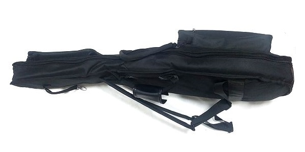 KC CSA-100 セミアコ用 ギグバッグ 満タン 横アングル